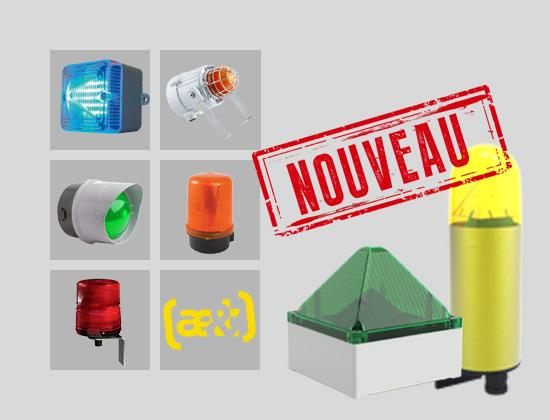 2 nouveaux feux LED chez ae&t : une gamme qui répond à tous les besoins