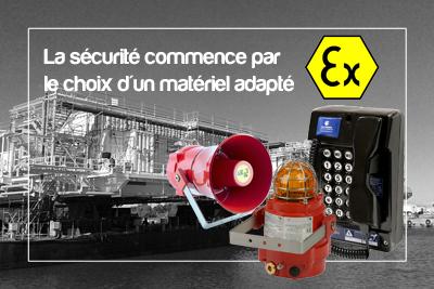 En atmosphère explosive, sécurité rime avec matériel adapté chez aet