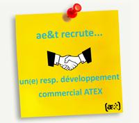 ae&t recrute un(e) responsable développement commercial produits et solutions ATEX
