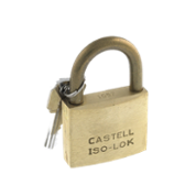 Cadenas Iso-Lok® Laiton corps 30mm Anse 15 mm combinaisons identiques