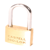 Cadenas Iso-Lok® Inox corps 50mm Anse 48 mm combinaisons identiques