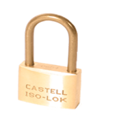 Cadenas Iso-Lok® Laiton corps 50mm Anse 48 mm combinaisons identiques