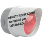 Feu trafic LED compact IP65 150xø100mm